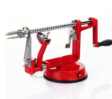 3 in 1 Apple Peeler Slicing Machine - Red