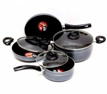 Kiam Non Stick 7 Pcs Cookware Set