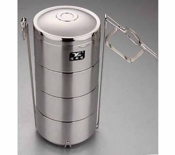 Stainless Steel Vacuum Lunch Box Factory good quality Bento container 4 layers