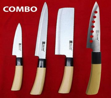 Combo Pack of 4 Pcs Kitchen Knife
