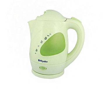 Electric Kettle - 1.2L - White and Green