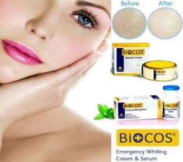 Biocos Emergency Whitening Cream & Whitening Serum  20g Pakistan