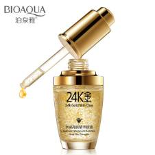 BIOAQUA 24K গোল্ড ফেইস ক্রিম হোয়াইটেনিং ময়েশ্চারাইজিং 24 K Gold Day Creams & Moisturizers 24K Gold Essence Serum New ফেইস স্কিন কেয়ার 30ml China