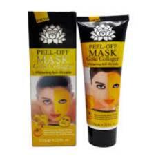 NEW 24K Gold Mask Collagen ফেসিয়াল মাস্ক পিল অফ স্কিন হোয়াইটেনি Anti wrinkle Anti Aging 120ml China