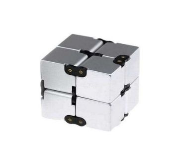 EDC Cube Fidget Toy - Silver