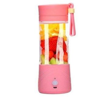 Portable Rechargeable Smoothie Blender and Power Bank - Pink