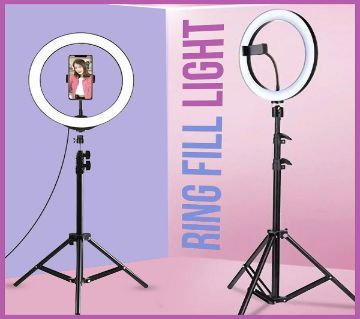 10 inch LED Ring Fill Light Ringlight With Stand