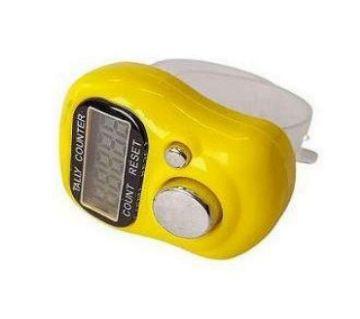 Digital Counter Tajbi - Yellow and Transparent
