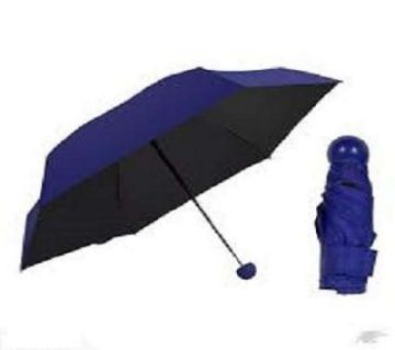 Fashion Foldable Capsule Shape Umbrella - BLUE