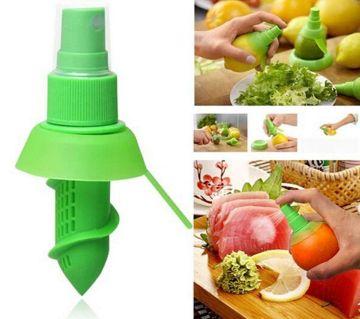 1 Set Lemon Sprayer kitchen Gadgets Orange Juice Citrus Spray Manual Fruit Juicer Lemon Squeezer Kitchen Tools