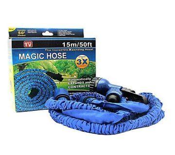 50 ft. Magic Car Washing Hose Pipe  Blue