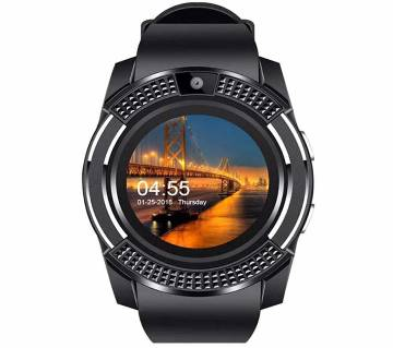 V8 Smart Watch For iOS and Android Mobile
