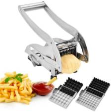 Stainless Steel Potato Chopper for French Fry - Silver