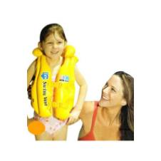 Inflatable swim vest for kids
