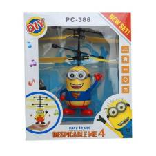 Flying Minion Toy for Kids - Yellow and Blue