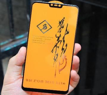 9H 6D টেম্পার্ড গ্লাস স্ক্রীন প্রোটেক্টর for Xiaomi Mi 8 Lite লাইট
