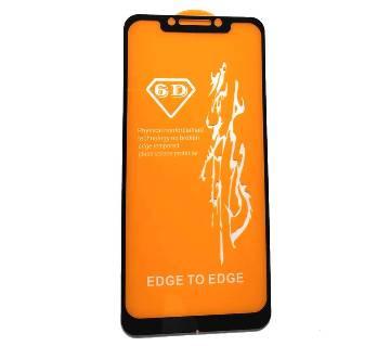 6D টেম্পার্ড গ্লাস স্ক্রীন প্রোটেক্টর for Xiaomi Poco F1 / Pocophone F1 পকো