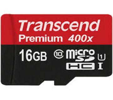 Transcend 16GB microSDHC