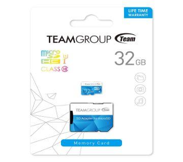 Team Group 32 GB MicroSDHC Memory Card
