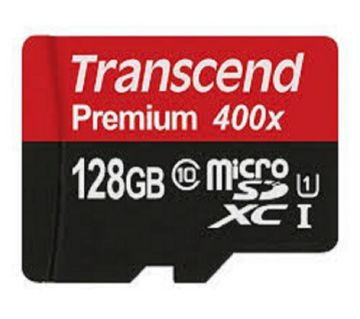 128GB Transcend MicroSD Class10