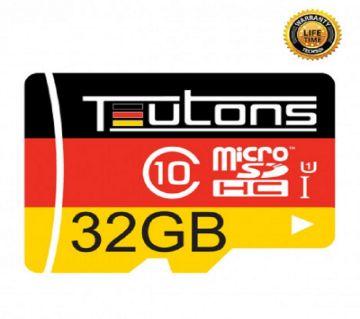 32GB TEUTONS MicroSD