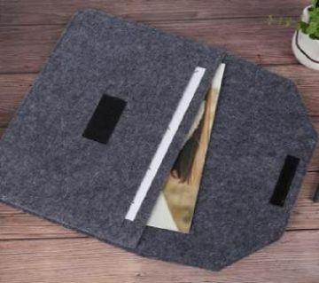 Laptop Bag 15 inch Ultra Slim Wool Felt Pouch Bag for Apple Macbook for Lenovo Acer Dell HP universal Laptop Bag 15 inch