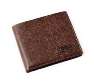Man Jeep Business Style Short Wallet