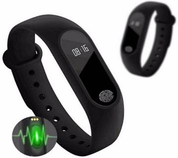 M2 Water Proof Smart Band - Black