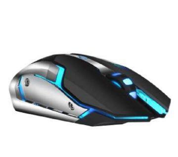 রিচার্জেবল ওয়্যারলেস মাউস গেমিং  1600dpi 7 color Backlight Comfort Gamer Mice for Computer Desktop Laptop মাউস