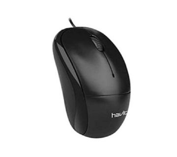 MS851 Wired Mouse with 1000DPI - Black