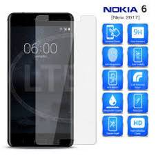 Nokia 6 5D Tempered Glass Screen Protector-Transparent
