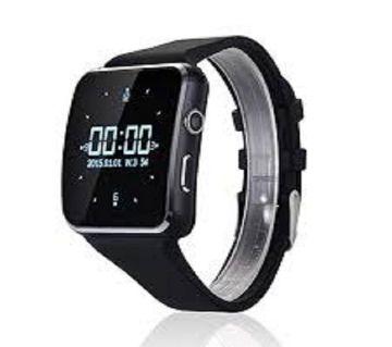X6 সিমলেস স্মার্ট ওয়াচ - Black X6 Smart Watch - Black ঘরি