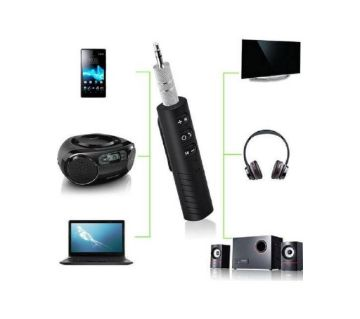 Bluetooth Audio Receiver Adapter Wireless Aux Receiver 4.1 Bluetooth Handsfree 3.5mm Jack Hands-free Car Kit