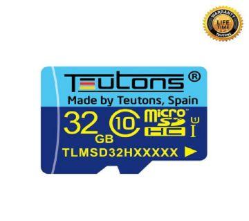 MEMORY CARD TEUTONS 32GB CLASS-10