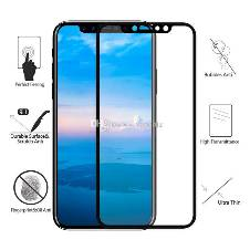 IPhone X 5D Screen Protector White color