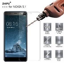 Nokia 5.1 5D Screen Protector Black color