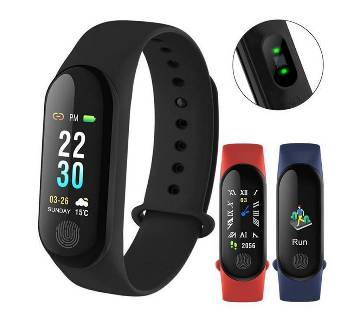 M3 Smart Watch Bluetooth Fitness Tracker Sport Smart Bracelet