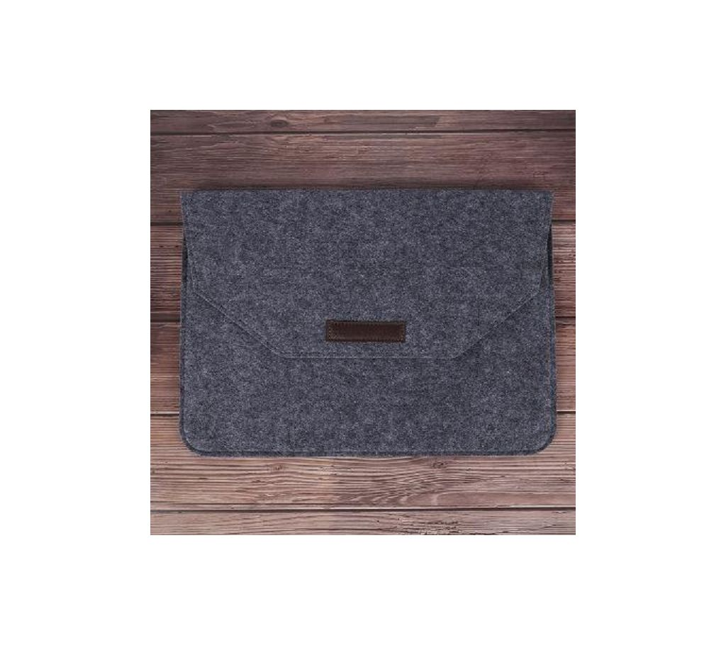ল্যাপটপ ব্যাগ 13.3 inch Ultra Slim Wool Felt Pouch Bag for Apple Macbook for Lenovo Acer Dell HP universal Laptop Bag 13.3 ইঞ্ছি বাংলাদেশ - 926629