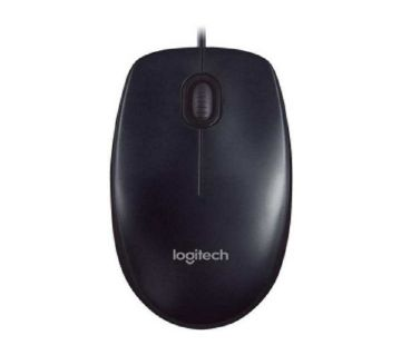 M90 USB 2.0 Wired Optical Mouse - Black