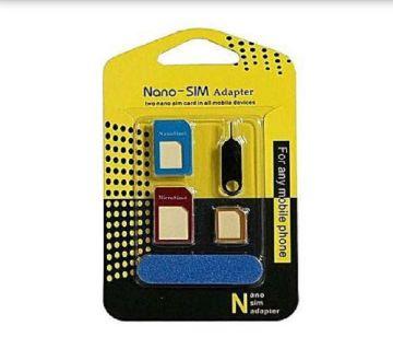 Nano SIM Adapter Converter - Multicolor