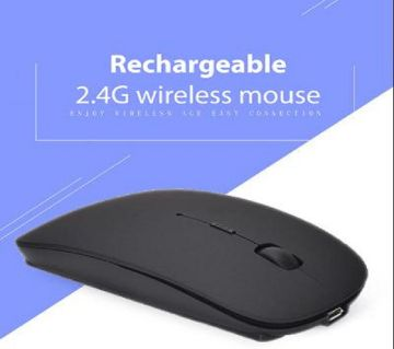 রিচার্জেবল ওয়্যারলেস অপটিক্যাল মাউস, Wireless Computer Gamer 2.4GHz Mouse মাউস
