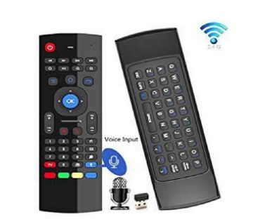 T6 Wireless Fly Air Mouse With Keyboard-Black