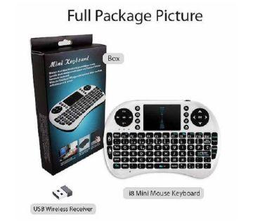 BT Mini Wireless Bluetooth Backlight Touchpad Keyboard