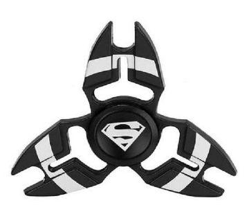 Avengers মেটাল ফিজেট স্পিনার Superman -  ব্লাক