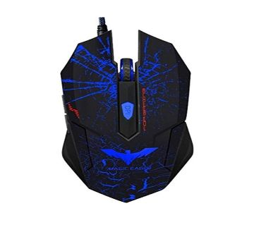 HV-MS691 Wired Gaming Mouse - Black