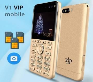 VIP V1 3-Sim 4 ক্যামেরা কার্ড ফোন