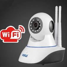 Wireless 720P Pan Tilt নেটওয়ার্ক CCTV IP ক্যামেরা IR নাইট ভিশন WiFi ওয়েব ক্যাম