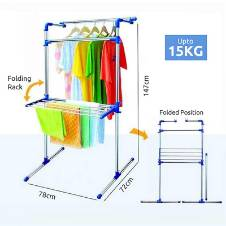 Portable Multifunctional Clothing & Drying Rack