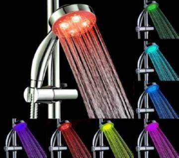 ইলেক্ট্রিক শাওয়ার উইথ 7 Color 5 LED লাইট