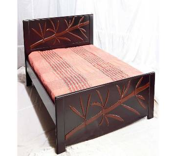 Malaysian Processed Wood Double Bed